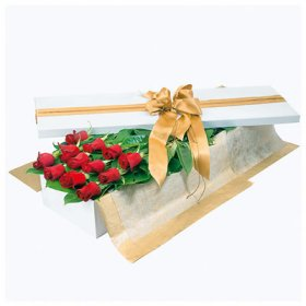 dịch vụ, 12 Red Roses in Long Box