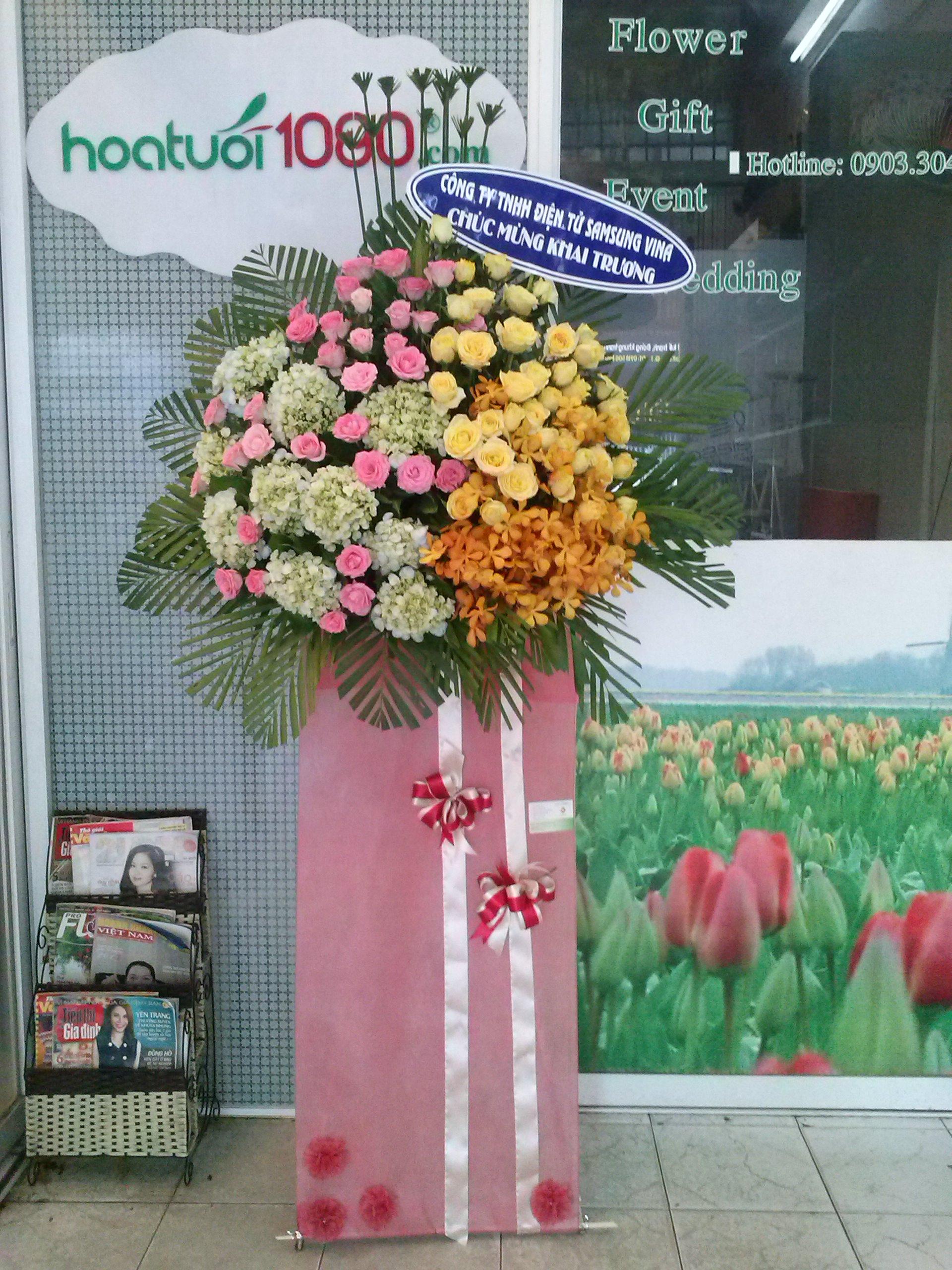 Hoa Chúc Mừng 077