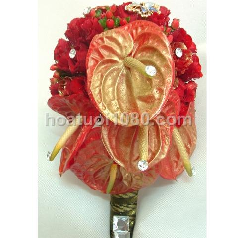 Hoa cầm tay 022