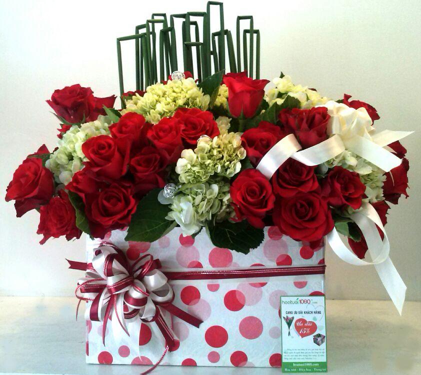 Hoa trong hộp 005