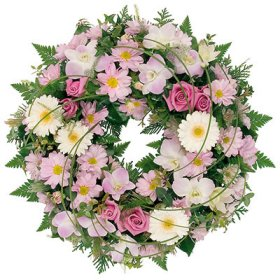 dịch vụ, Mixed Floral Wreath