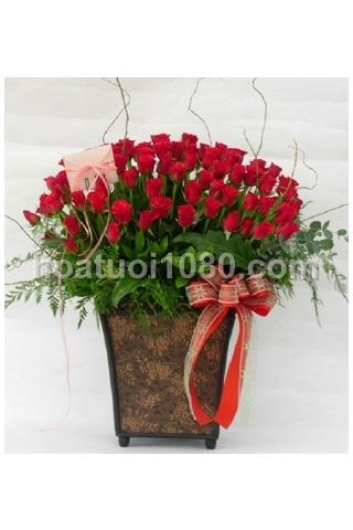 Giỏ hoa 032