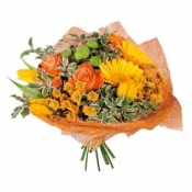 Basket Arrangement 'Orange Mood'