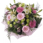 Bouquet in Pastel Colours