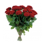 """Bouquet of Roses 'Red Velvet""""without vase"""