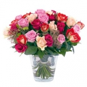 Bouquets of Mixed Roses