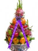 Giỏ trái cây phúng điếu sang trọng