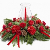Holiday Traditions Candle Centerpiece