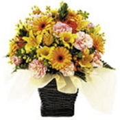 Seasonal Arrangement (yellow and orange)