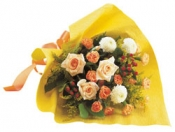 Seasonal Bouquet (yellow & Orange)