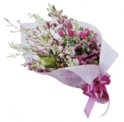 Seasonal Bouquet (pink & white)