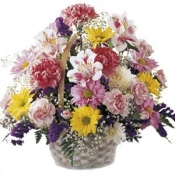 The FTD Basket of Cheer Bouquet Intercat